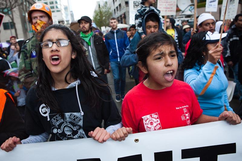 Labor march Seattle