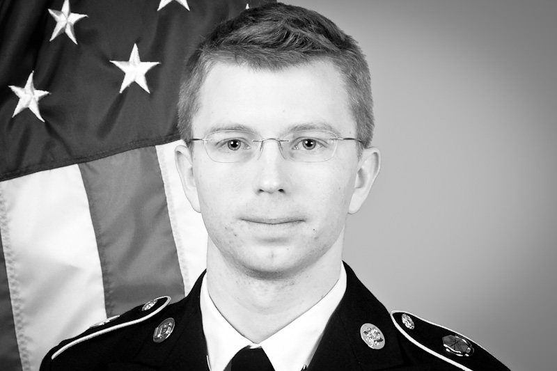 United States Army photograph of Bradley Manning (via Wikipedia)