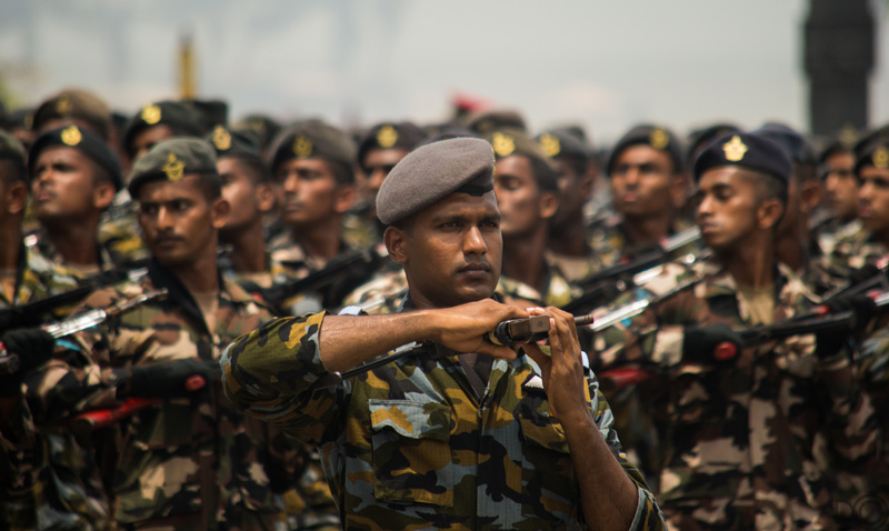 Sri Lankan Independence Day. Photo thanks to Frederica Jansz.