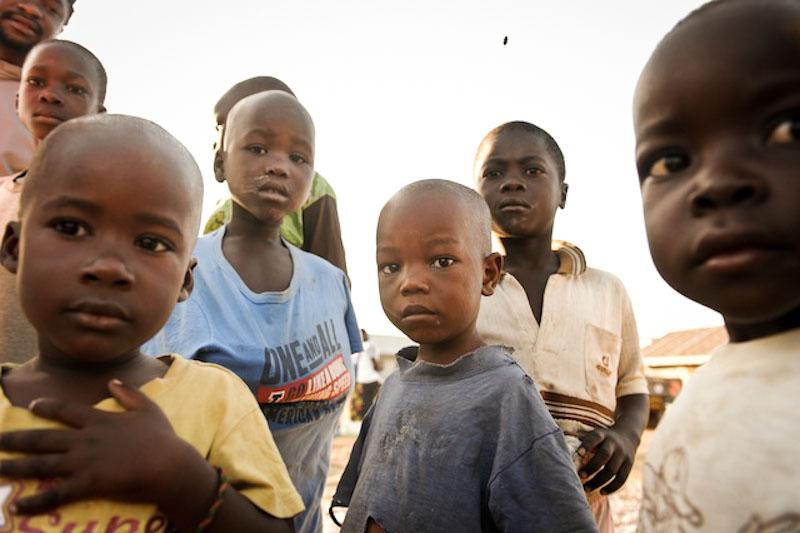 Children who live on Rusinga Island in western Kenya. (Photo by Jason Koenig)