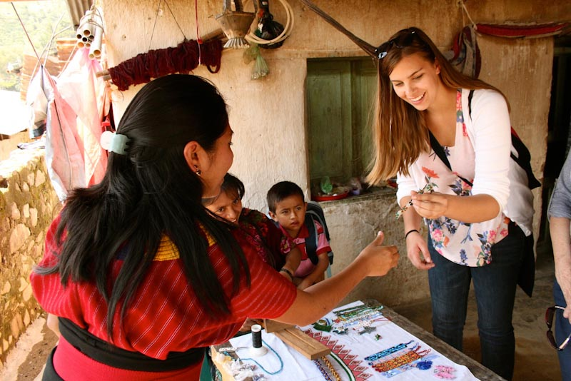 Jozlyn Pelk in Guatemala (Photo by Gloria Mayne / The Seattle International Foundation)