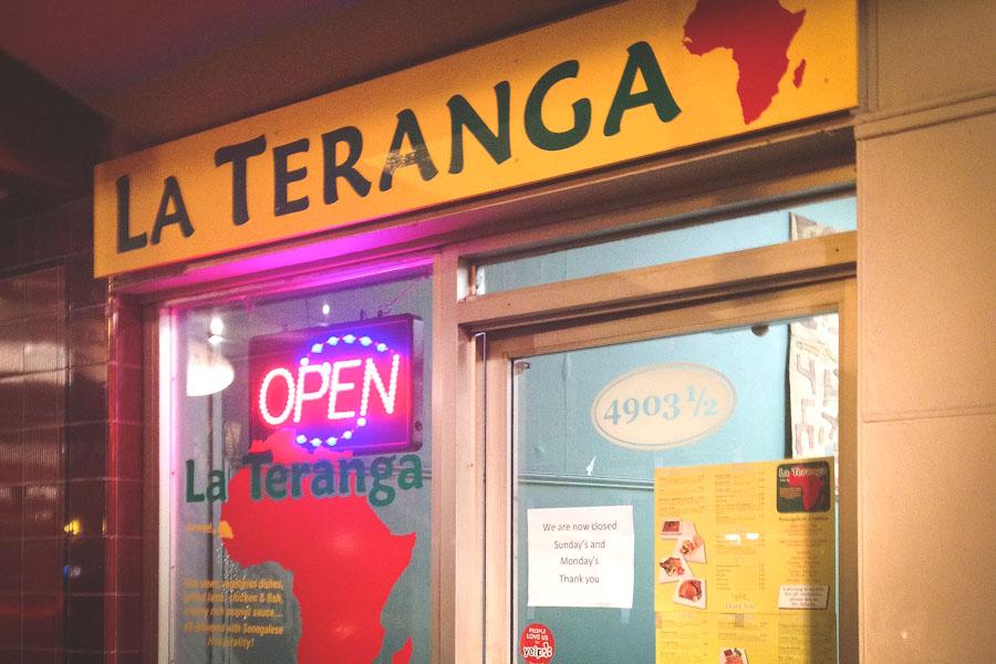 La Teranga Senegalese restaurant in Columbia City. (Photo by Reagan Jackson