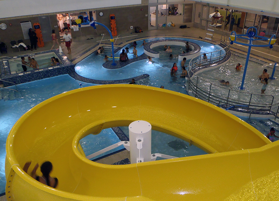 The New Pool At Rainier Beach Community Center Features Indoor Water Slides Photo
