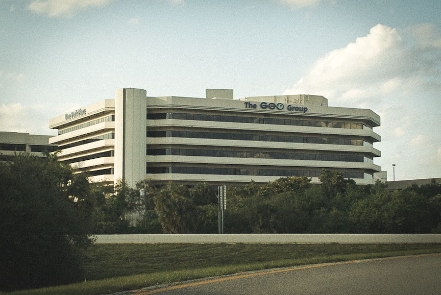 The GEO Group's headquarters in Boca Raton, Florida. (Photo from Wikipedia)