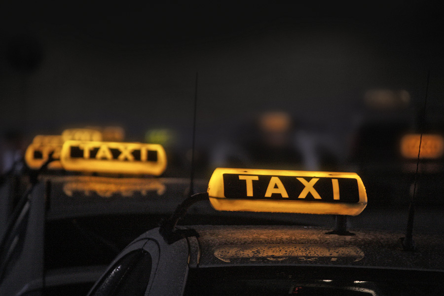 Taxi hate crime