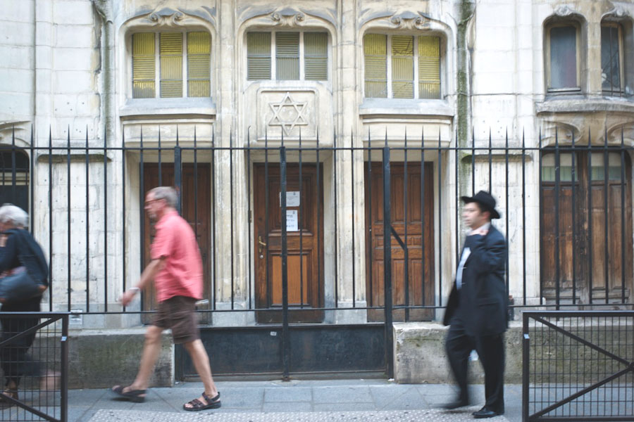 A synagogue in Paris. (Photo from Flickr by Susan Sermoneta)