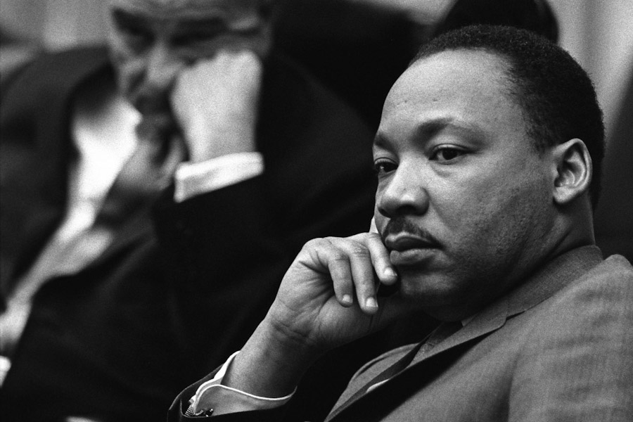 Black History Month events and curriculum are mostly oriented toward iconic figures of the American Civil Rights Movement like Martin Luther King, Jr., rather than African history. (Photo by Yoichi R. Okamoto, White House Press Office)