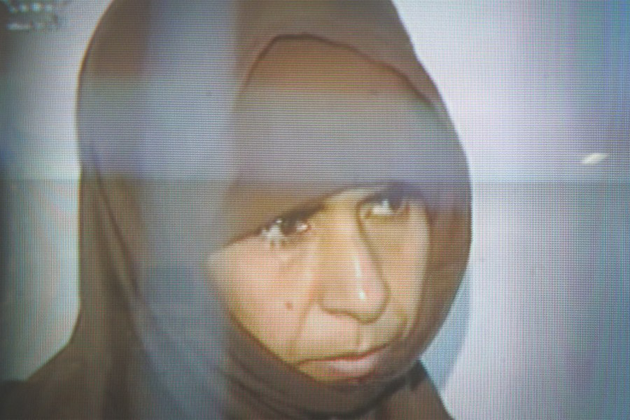 Convicted suicide bomber Sajida al-Rishawi was executed Wednesday in a misguided act of retaliation for ISIS's murder of a captured Jordanian pilot. (Still from Jordanian TV)