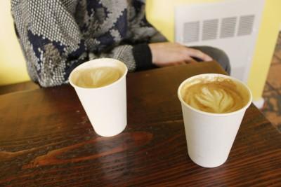 Cortona Café serves coffee locally roasted by Herkimer Coffee.