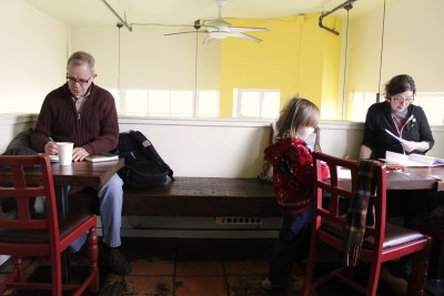 The café is a place where Central District residents get to know one another.