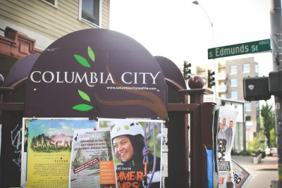 Columbia City, long celebrated for its diversity, has seen rents, lease rates and home prices rise, changing the character of the neighborhood. (Photo by Alex Stonehill)