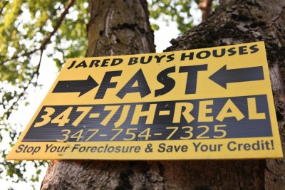 Jared is betting you don't know how your property is zoned, or how to access foreclosure relief programs. (Photo by Alex Stonehill)