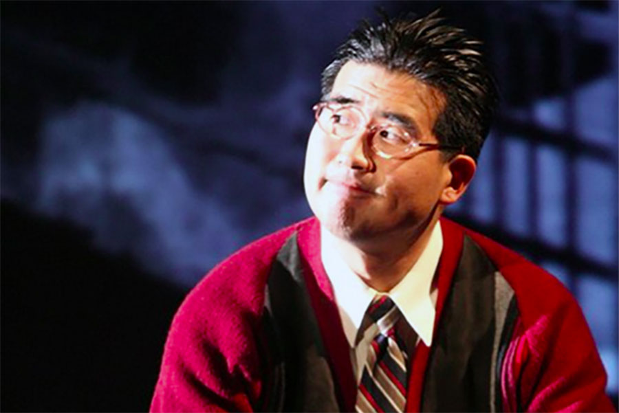 Ryun Yu portrays Gordon Hirabayashi. (Photo by Michael Lamont)