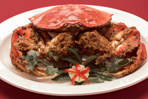 Dungeness crab with tamarind and mustard seed is a highlight a menu that blends Northwest ingredients with Indian flavors at Nirmal's. (Courtesy photo)