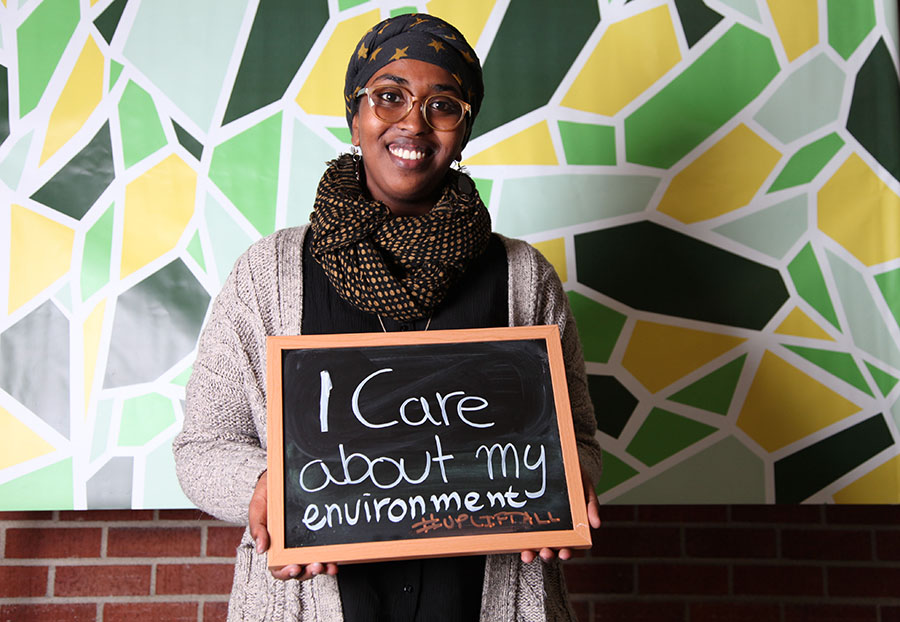 Hamda Yusuf. (Photo by The Seattle Globalist)