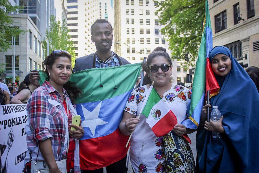 2016 Seattle May Day (Photo by DJ Martinez)