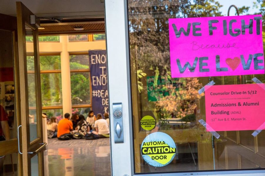 Seattle University Sit In Protests Curriculum School Culture The Seattle Globalist