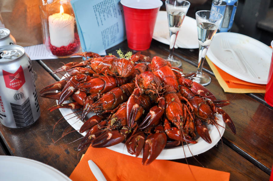 Crawfish are native all over the world, but are especially abundant in North America and Northern Europe where traditions like the Swedish Kräftskiva typically involve eating a ton of them in one sitting. (Photo by Yvonne Rogell)