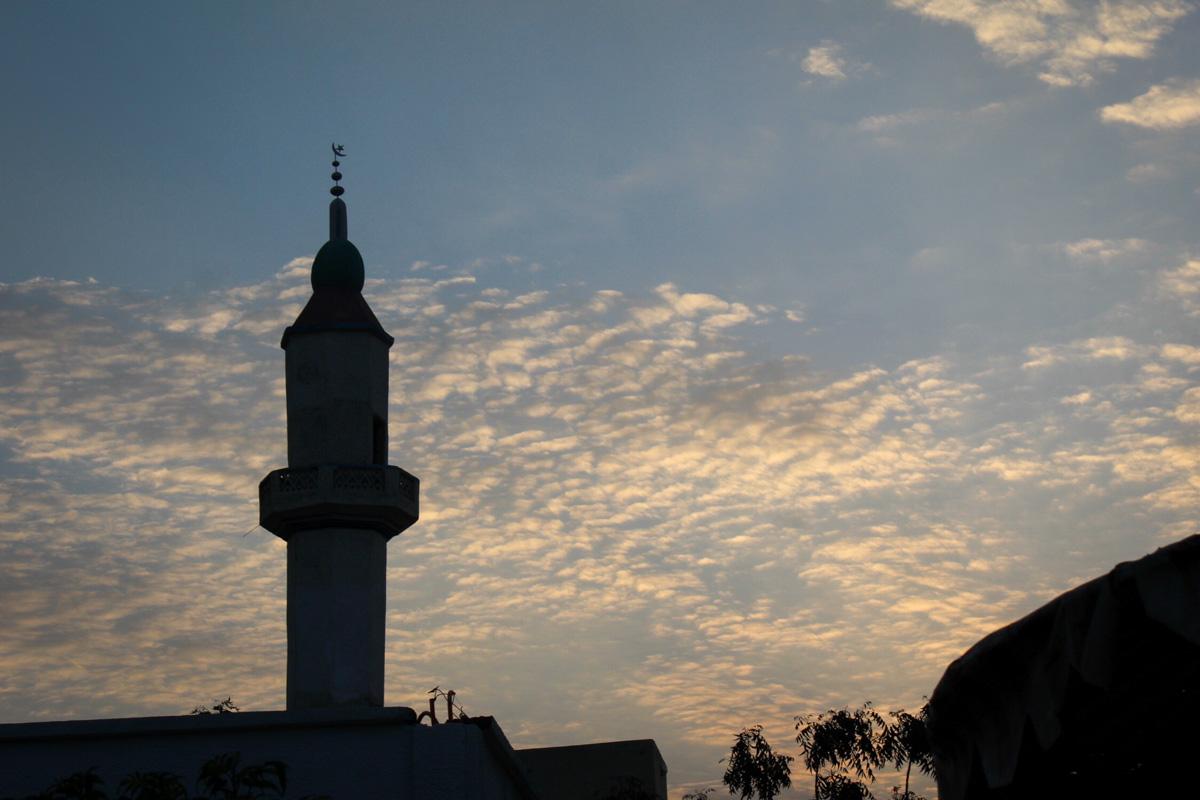 Masjid Ramadan, Hargesia, Somaliland. (Photo by Ikram Issa)