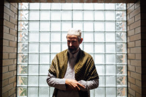 Aaron Cayko has attended the Idris mosque for five years. (Photo by Julia-Grace Sanders)