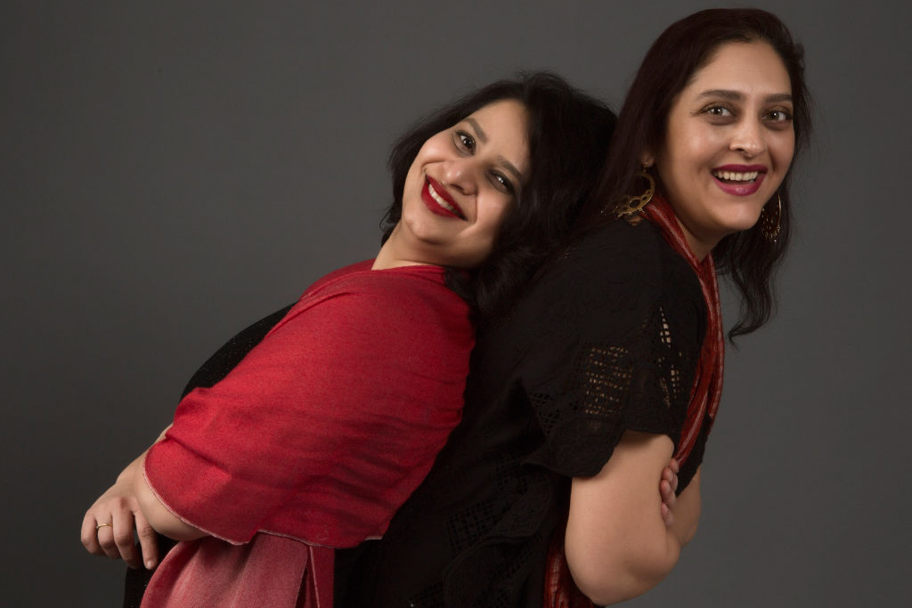 The co-Directors of Yoni Ki Baat for 2017, Gauri Shringarpure (left) and Sudeshna Sathe Dixit (right). (Photo by Dinesh Korde)