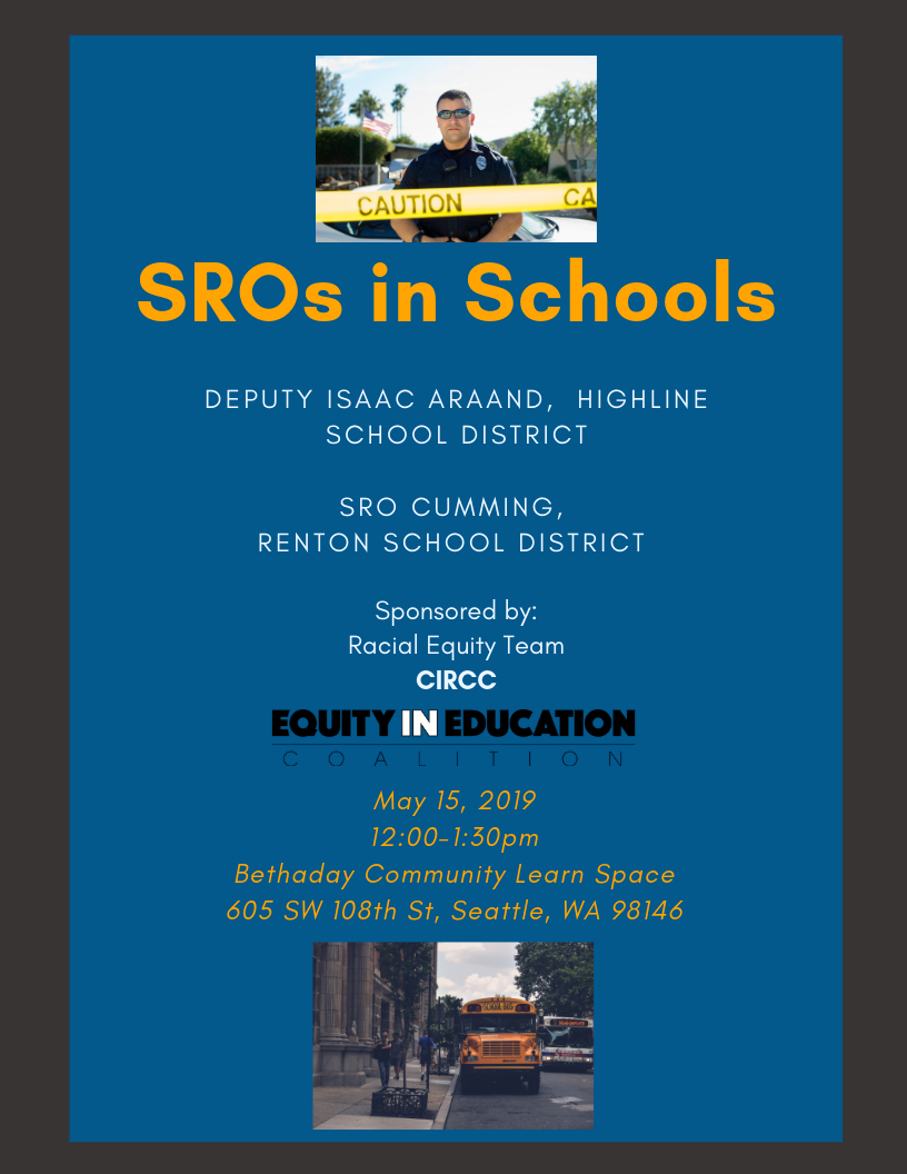 Renton School District Calendar.Sros In Schools Lunch And Learn The Seattle Globalist